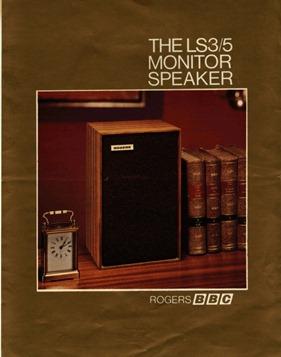 Spendor LS3/5 monitor speaker