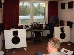 AAA dag Krefeld 2013 Open Baffle speakers