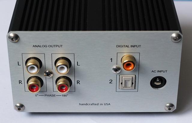 CI Audio VDA-2 DAC - achterkant
