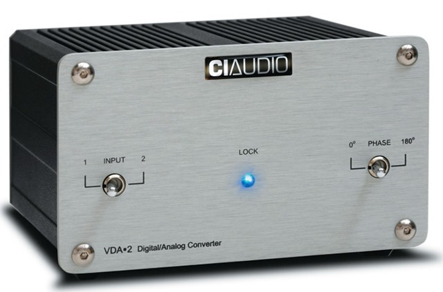 CI Audio VDA-2 DAC - schuinvoor