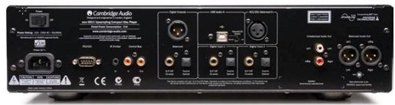 Cambridge Audio Azur 851 achterkant