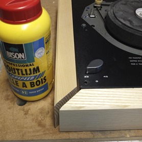Thorens TD 160 console bouwbeschrijving