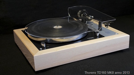 Thorens TD160 console