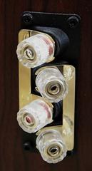 Wharfedale Diamond 10.3 speakerterminals