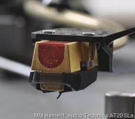 MM element: Audio Technica AT20 SLa