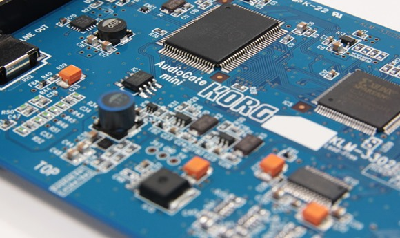 Korg DS-DAC-100 PCB