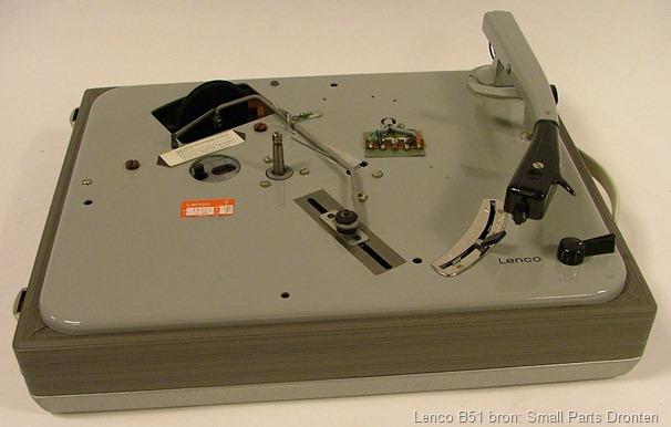 Lenco B51 platenspeler