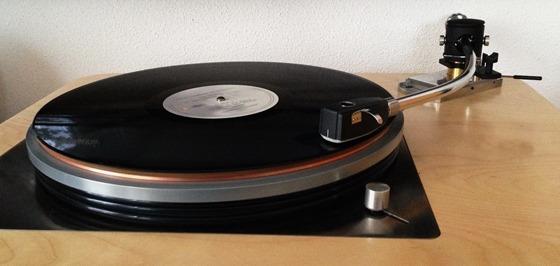 Lenco with Audio Creative GrooveMaster b-type tonearm