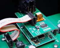 Metrum Acoustics Hex binnenkant USB en AES EBU modules