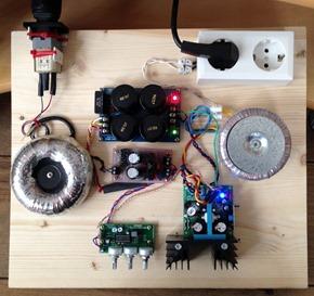 Motorregeling platenspeler