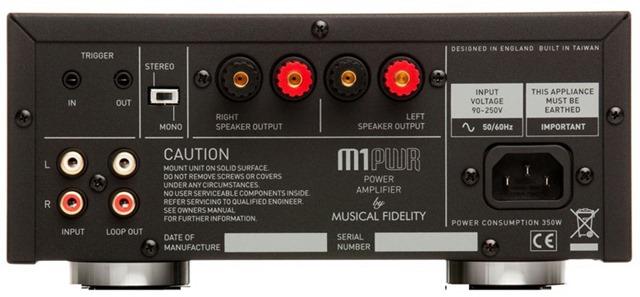 Musical Fidelity M1PWR achterkant (2)