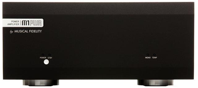 Musical Fidelity M1PWR zwart frontaal