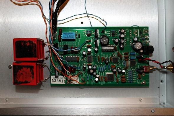 Musical Fidelity V-DAC ingebouwd in aluminium kast