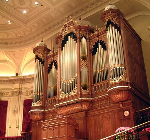 Orgel Amsterdam Concertgebouw (foto Wikipedia)