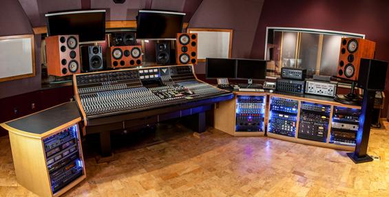 pro-audio studio