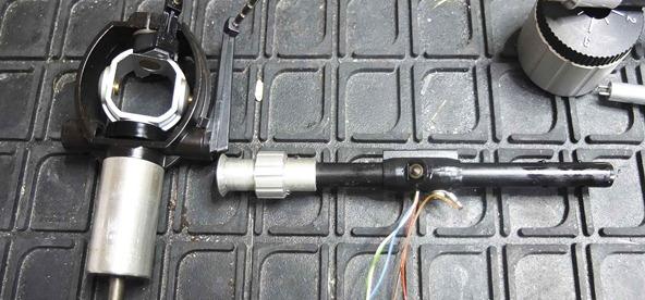 Thorens tonearm rewire-2